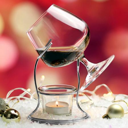 Suport incalzitor cu pahar Cognac [8]