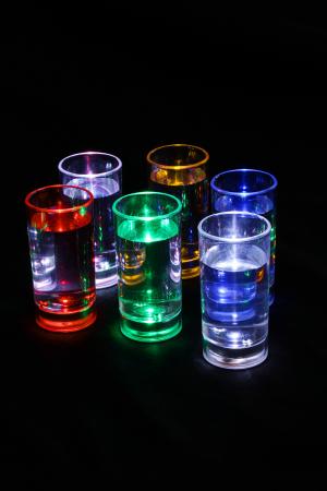 Set de shot-uri cu LED - 6 piese0