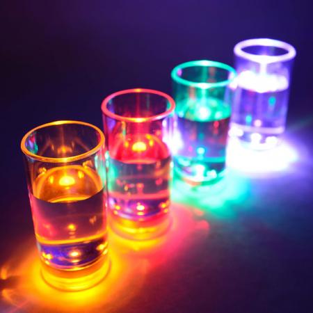 Set de shot-uri cu LED - 6 piese2