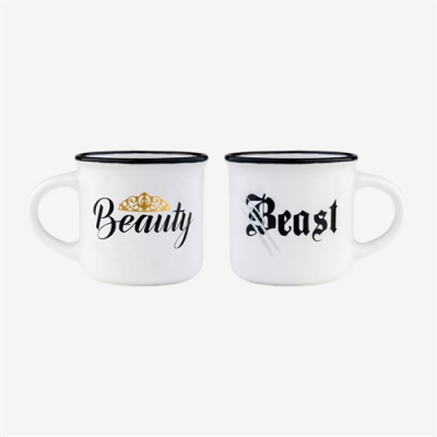 Set espresso Beauty & Beast0