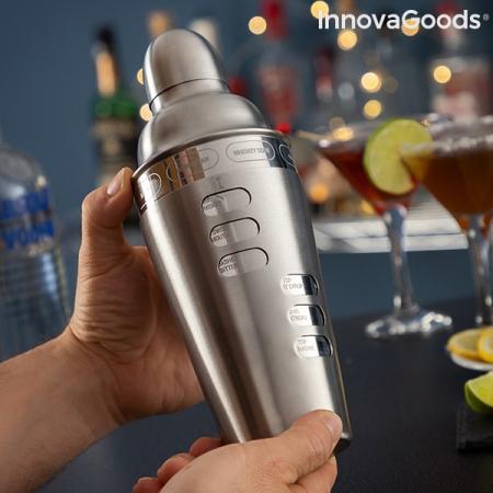 Shaker cu retete de cocktailuri integrate1