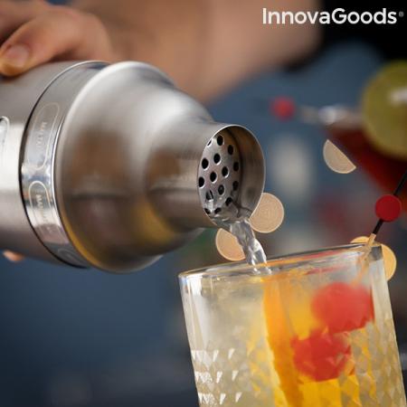 Shaker cu retete de cocktailuri integrate3