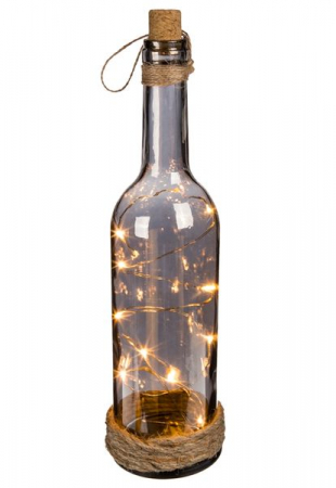 Sticla decor cu LED uri0