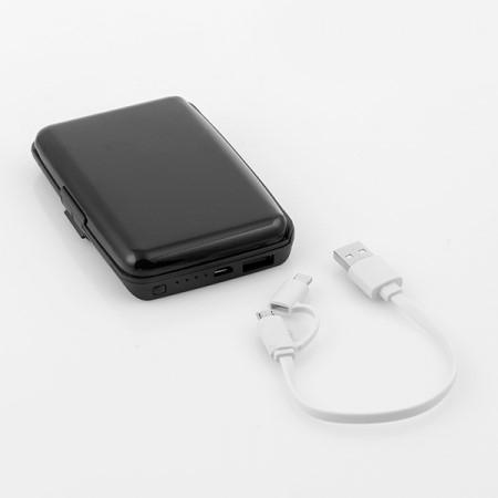 Suport carduri cu protectie RFID/NFC si power bank [2]