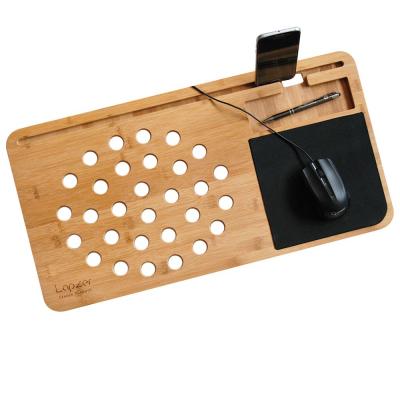 Suport laptop din bambus1