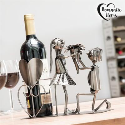 Suport sticle vin Cuplu indragostit0