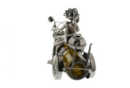 Suport sticle vin Motocicleta Clasica2