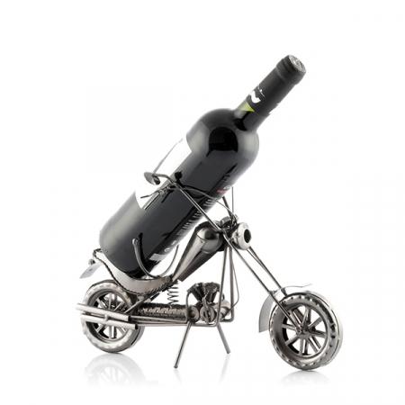 Suport sticle vin Motocicleta Chopper2