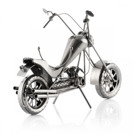 Suport sticle vin Motocicleta Chopper3