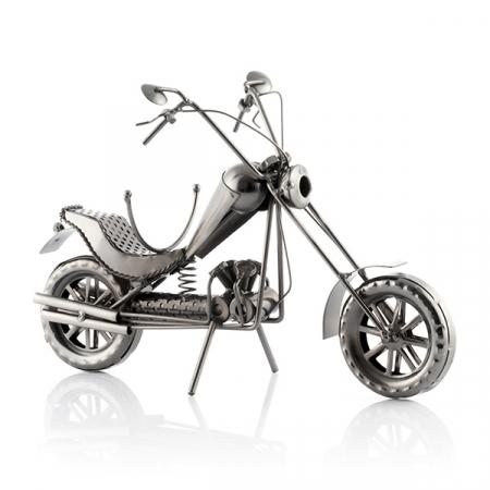 Suport sticle vin Motocicleta Chopper0
