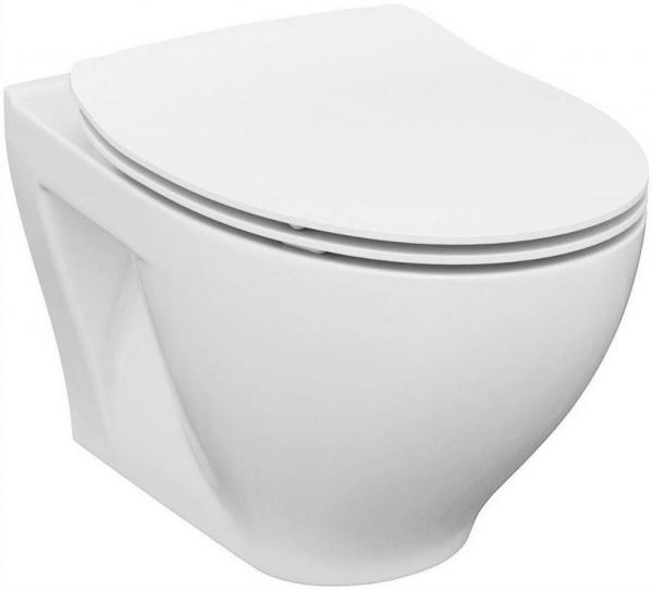 ALL IN ONE Incastrat - Cersanit Moduo CleanON - Capac soft and slim, clapeta crom lucios 6