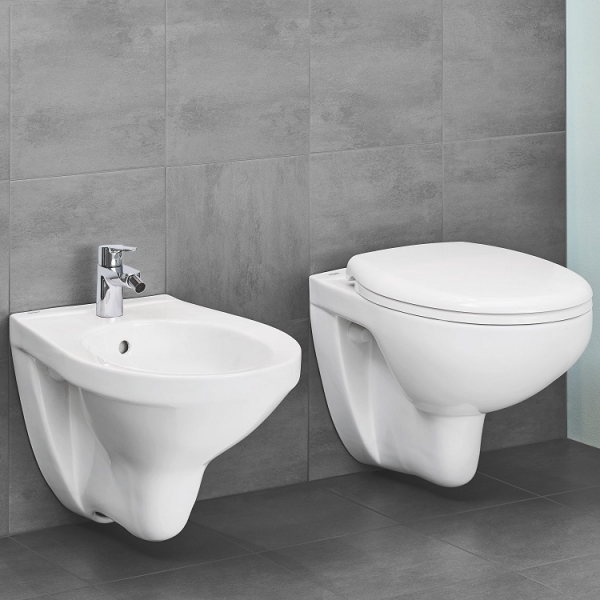 ALL IN ONE Incastrat - Geberit + Grohe Bau Ceramic Rimless + Paffoni - Cu dus Igienic 7