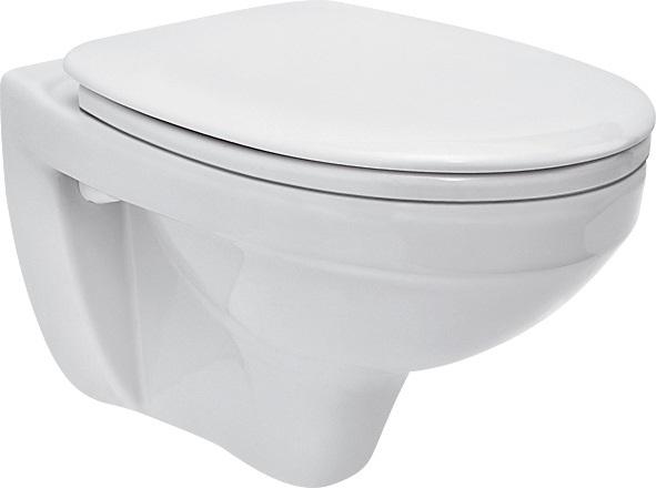ALL IN ONE Incastrat - Grohe + Cersanit Delphi - Cu dus Igienic - Gata de montaj - Vas wc Suspendat Cersanit Delphi + Capac softclose + Rezervor Grohe 7