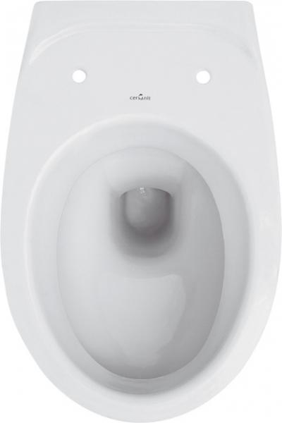 ALL IN ONE Incastrat - Grohe + Cersanit Delphi - Cu dus Igienic - Gata de montaj - Vas wc Suspendat Cersanit Delphi + Capac softclose + Rezervor Grohe 8