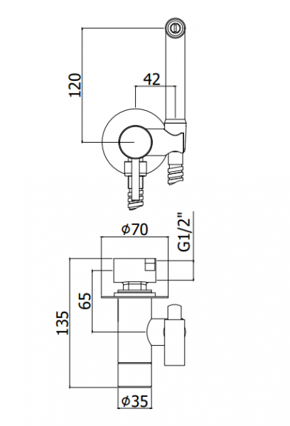 ALL IN ONE Incastrat - Ideal Standard + Cersanit Delphi - Cu dus Igienic - Gata de montaj - Vas wc Suspendat Cersanit Delphi + Capac softclose + Rezervor Ideal Standard 8