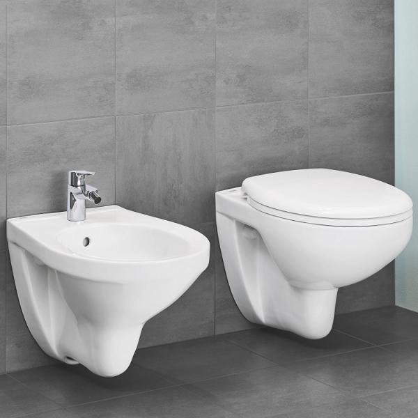 ALL IN ONE Incastrat - Ideal Standard + Grohe Bau Ceramic Rimless + Paffoni - Cu dus Igienic 4