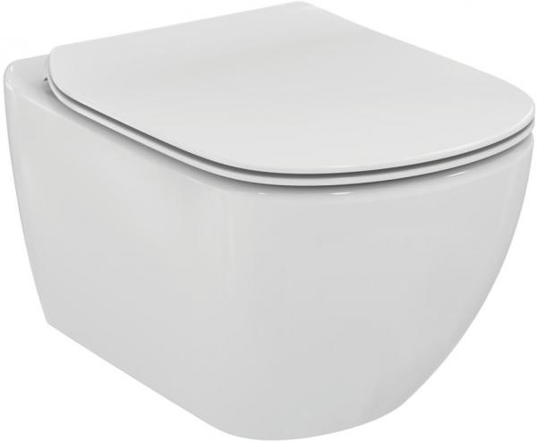 ALL IN ONE Incastrat - Ideal Standard + Ideal Standard Tesi Aquablade + Paffoni - Cu dus Igienic - Gata de montaj - Vas wc Suspendat Ideal Standard Tesi Aquablade + Capac softclose + Rezervor Ideal St 2