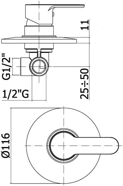 ALL IN ONE Incastrat - Ideal Standard + Paffoni + Vitra S50 RIMEX - Cu functie bideu - Gata de montaj - Vas wc Vitra S50 RIMEX cu functie bideu + Capac softclose + Rezervor Ideal Standard + Baterie in 11