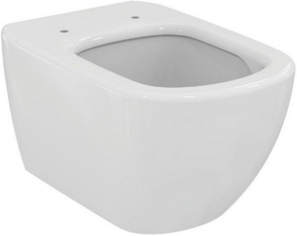 ALL IN ONE Incastrat - Schell + Ideal Standard Tesi Aquablade + Paffoni - Cu dus Igienic - Gata de montaj - Vas wc Suspendat Ideal Standard Tesi Aquablade + Capac softclose + Rezervor Schell 1