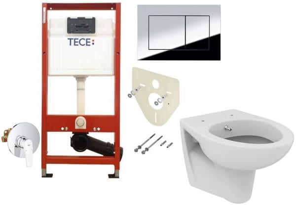 ALL IN ONE Incastrat - TECE + Grohe + Eurovit - Cu functie bideu - Gata de montaj - Vas wc Ideal Standard Eurovit cu functie bideu + Capac softclose + Rezervor TECE + Baterie incastrata Grohe 0