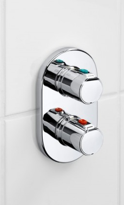 Baterie cada incastrata termostatata Roca T500 - Corp ingropat inclus 3