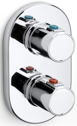 Baterie cada incastrata termostatata Roca T500 - Corp ingropat inclus 0