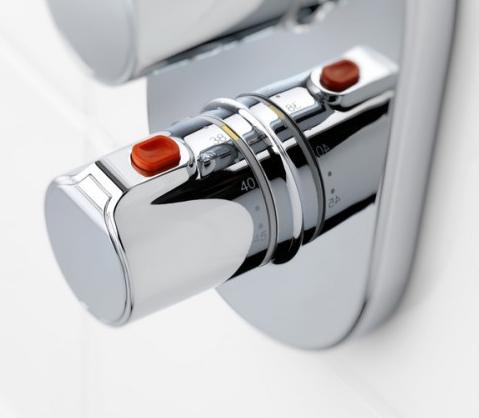 Baterie cada incastrata termostatata Roca T500 - Corp ingropat inclus 1