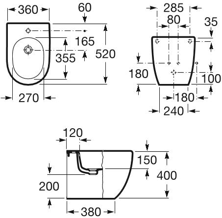 Bideu Roca Meridian Compact [1]