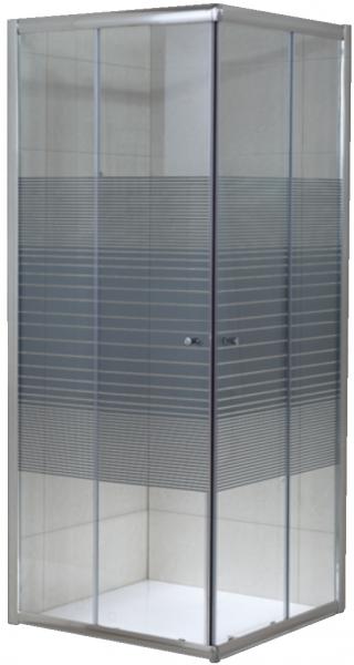 Cabina de dus patrata Belform Grid 90x90 - geam 6mm [0]