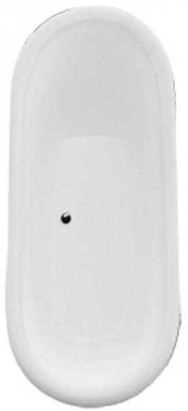 Cada Baie Compozit Besco Amelia 190x77 cu picioare albe 4