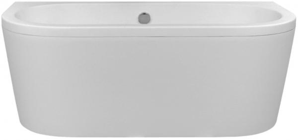 Cada Baie Compozit Besco Vista 160x75 cu masca si sifon inclus click-clack 4