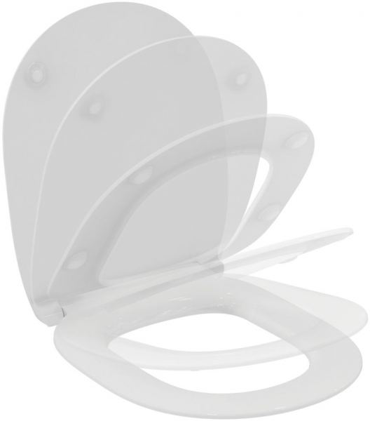 Capac WC Ideal Standard Connect - Slim - Softclose 1