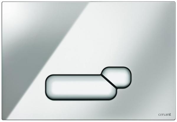 Clapeta actionare Cersanit Aqua (seria 0, 2 si 4) si System (seria 0 si 2) - Actis crom lucios 0