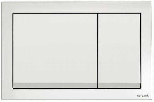 Clapeta actionare Cersanit Aqua (seria 0, 2 si 4) si System (seria 0 si 2) - Enter alb 0
