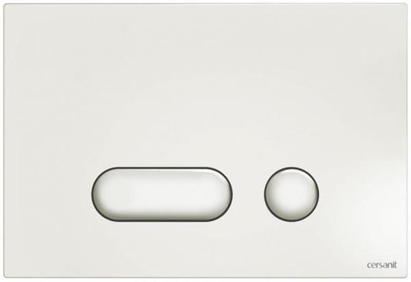 Clapeta actionare Cersanit Aqua (seria 0, 2 si 4) si System (seria 0 si 2) - Intera alb 0