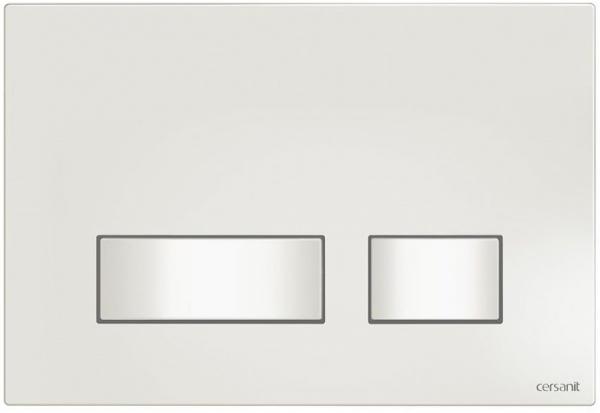 Clapeta actionare Cersanit Aqua (seria 0, 2 si 4) si System (seria 0 si 2) - Movi alb 0