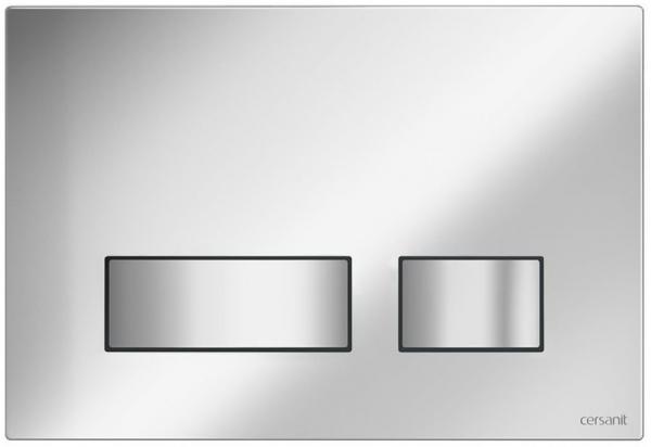 Clapeta actionare Cersanit Aqua (seria 0, 2 si 4) si System (seria 0 si 2) - Movi crom mat [0]