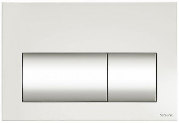 Clapeta actionare Cersanit Aqua (seria 0, 2 si 4) si System (seria 0 si 2) - Presto alb [0]