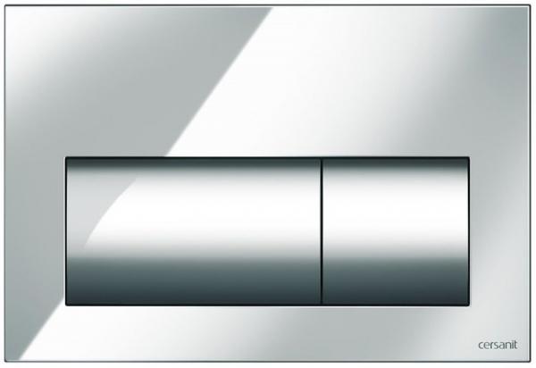 Clapeta actionare Cersanit Aqua (seria 0, 2 si 4) si System (seria 0 si 2) - Presto crom lucios 0