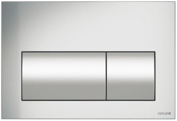 Clapeta actionare Cersanit Aqua (seria 0, 2 si 4) si System (seria 0 si 2) - Presto crom mat [0]