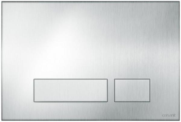 Clapeta actionare Metalica Anti-Vandalism Cersanit Aqua (seria 0, 2 si 4) si System (seria 0 si 2) - Torro otel mat 0
