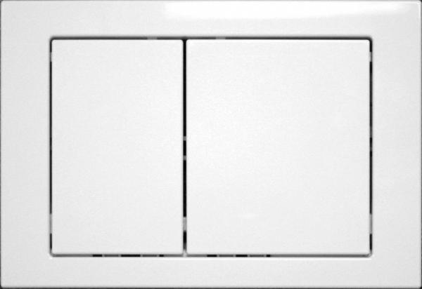 Clapeta actionare rezervor Cersanit Link - Model 1 Alb [0]