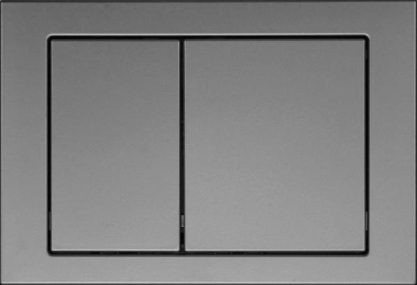 Clapeta actionare rezervor Cersanit Link - Model 1 Crom Mat [0]