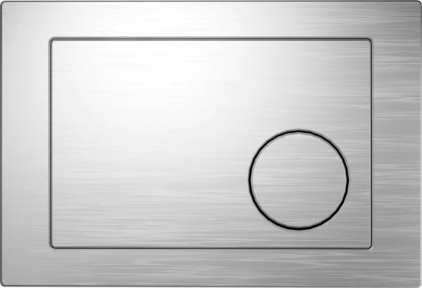 Clapeta actionare rezervor Cersanit Link - Model 2 Crom mat [0]