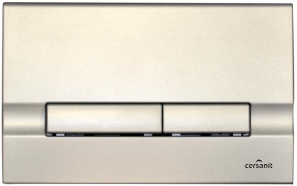 Clapeta actionare rezervor Cersanit Slim&Silent - Adria Crom mat 0
