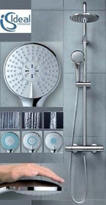 Coloana dus Ideal Standard IdealDUO - Baterie dus termostatata 5