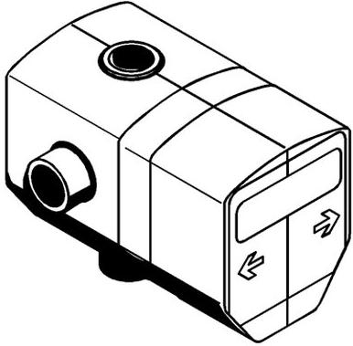 Corp ingropat Kludi Logo Neo 1