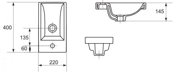 Lavoar Cersanit Como 40 CM [13]