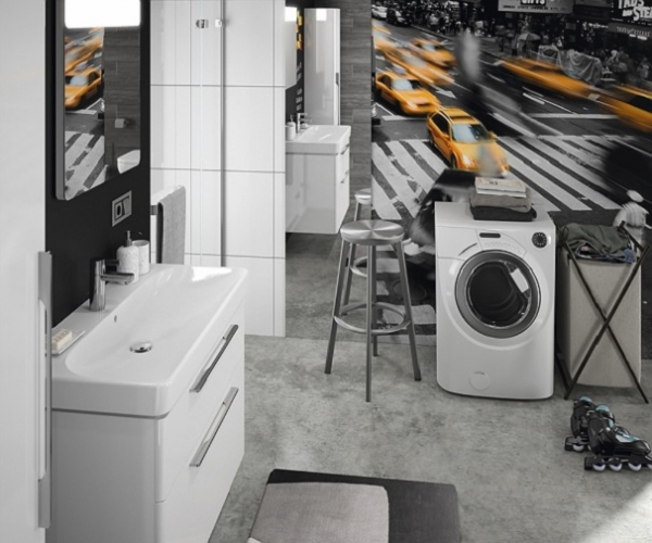 Lavoar Kolo Traffic 90 CM - Pentru montaj pe mobilier [2]
