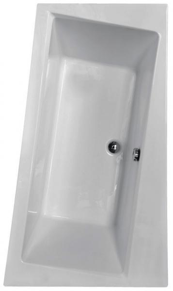 Pachet Complet - Cada Baie Acril Besco Infinity 170x110 COLT STANGA + Cadru Metalic + Masca Frontala + Sifon Evacuare 1